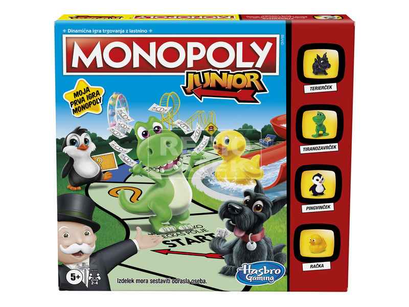 kép nagyítása Monopoly Junior társasjáték