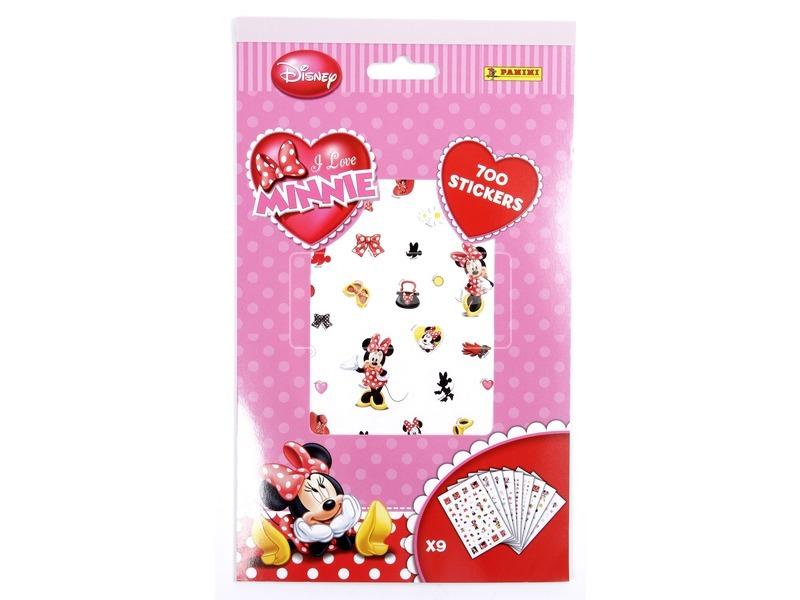 Minnie egér 700 darabos matrica készlet