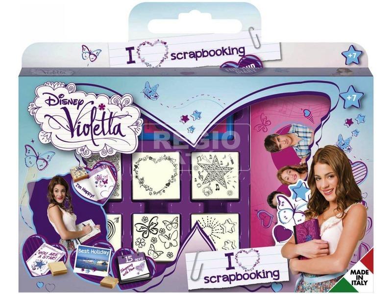 Violetta játéknyomda készlet