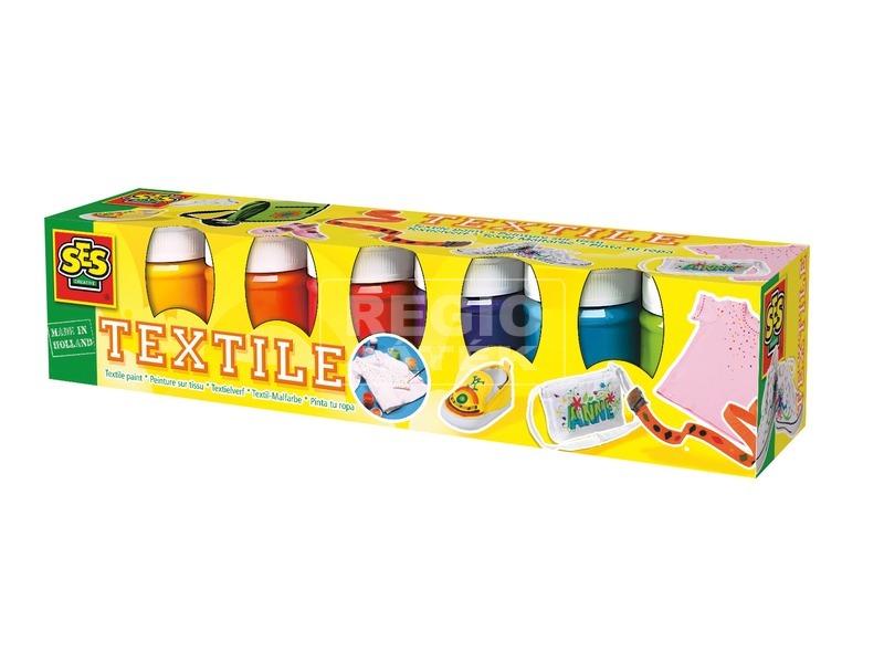 Textilfesték 6 x 50 ml