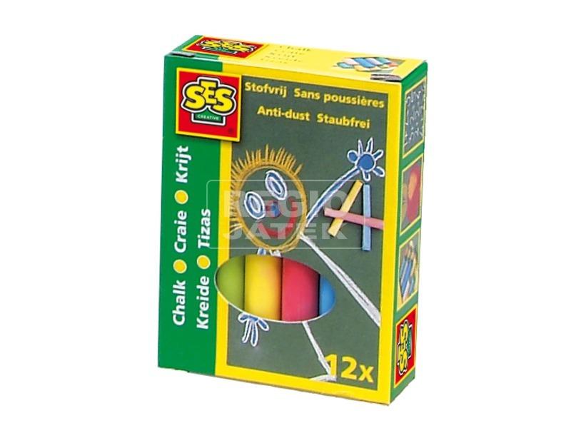 Táblakréta 12 darabos készlet - színes