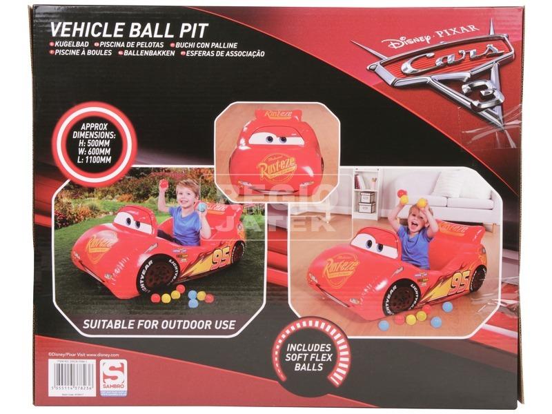 kép nagyítása Verdák felfújható autó puha labdával 10 darabos