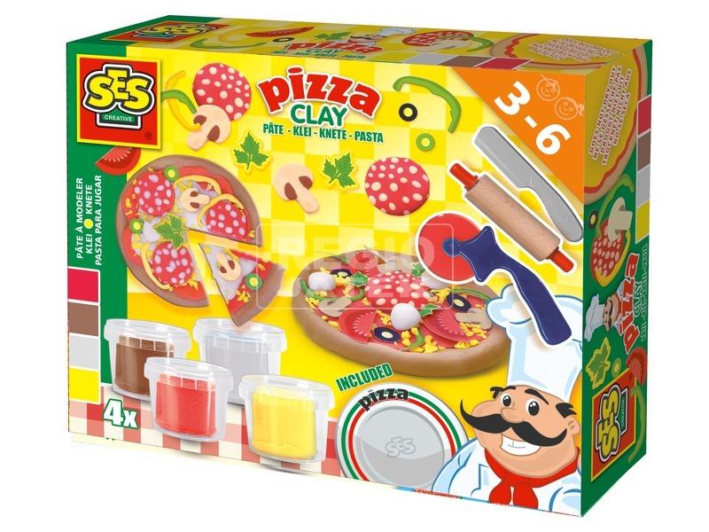 Pizza készítő gyurmakészlet