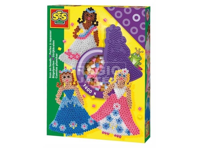 SES hercegnők 1 400 darabos vasalható gyöngy készlet