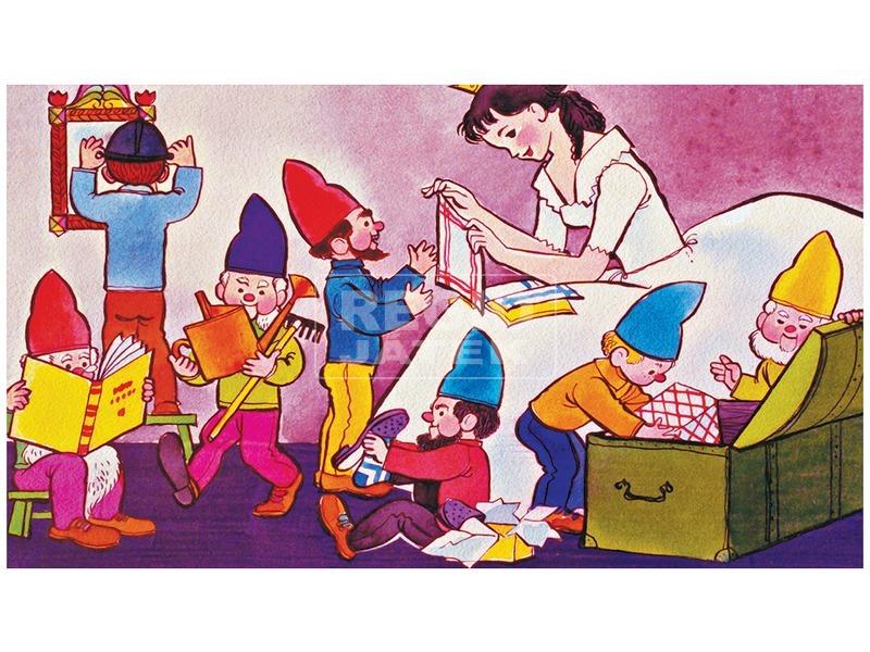 kép nagyítása A hét kis törpe egyedül diafilm 34101717