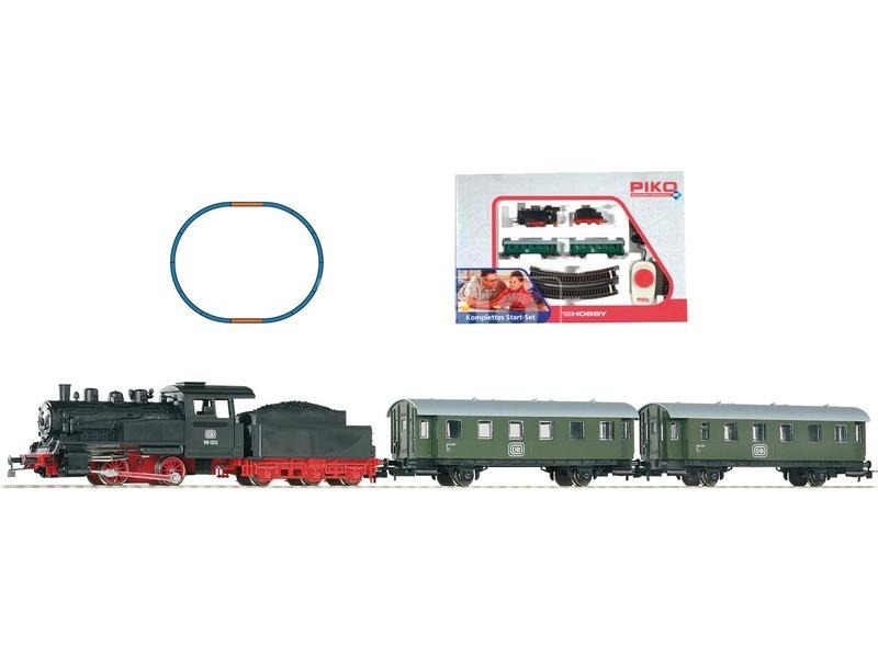 kép nagyítása Piko 1 /87 analóg kezdő vasút szett