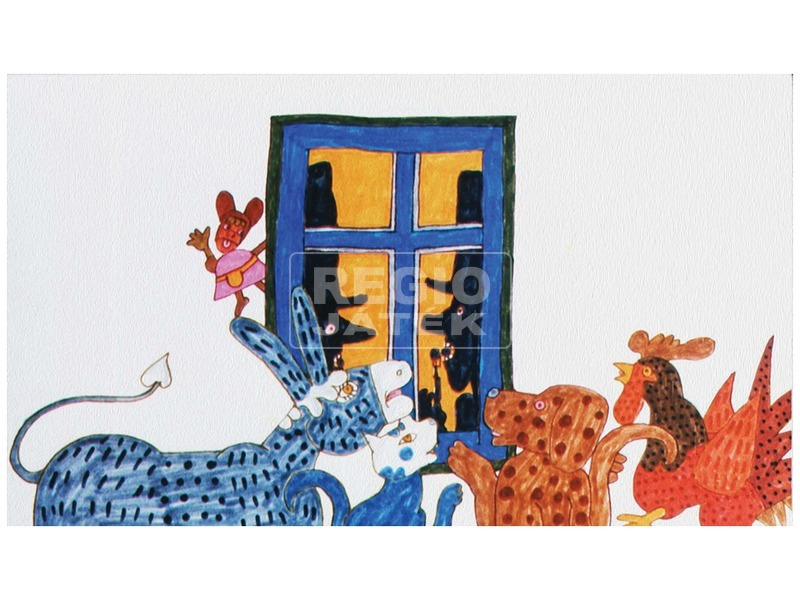 kép nagyítása A brémai muzsikusok diafilm 34100918