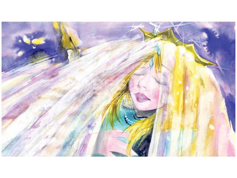 kép nagyítása A csodakút tündére diafilm 34101359