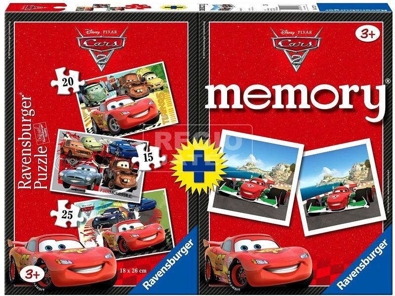 Verdák 15, 20, 25 darabos puzzle és memóriajáték