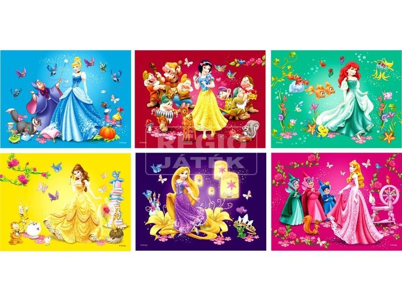 Disney hercegnők 12 darabos mesekocka