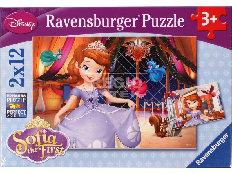 Szófia hercegnő 2 x 12 darabos puzzle