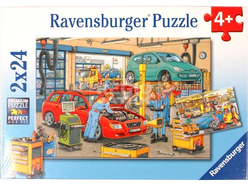 Autószerelő 2 x 24 darabos puzzle