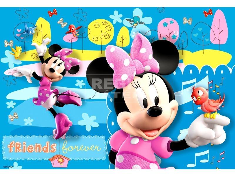 kép nagyítása Minnie egér 2 x 24 darabos puzzle