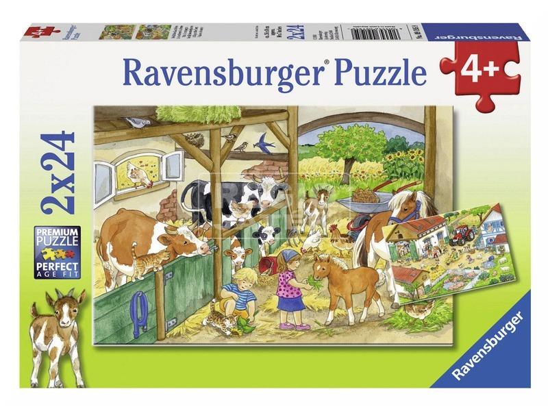 Tanyasi élet 2 x 24 darabos puzzle