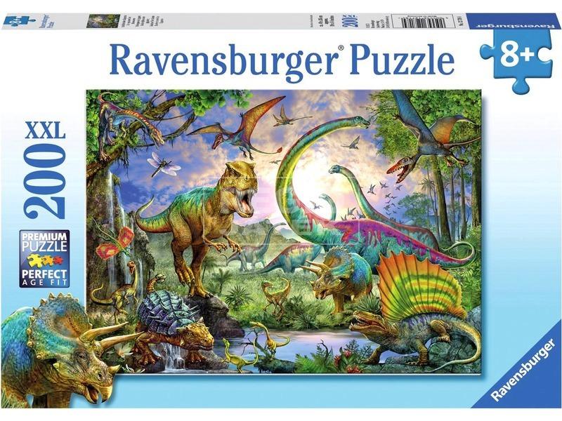 kép nagyítása Dinoszaurusz 200 darabos XXL puzzle
