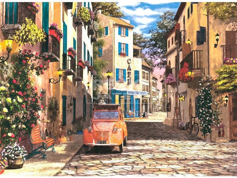 Puzzle 500 db - Dél-francia kisváros