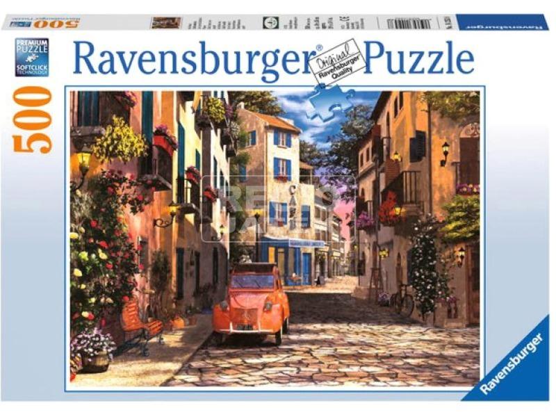 kép nagyítása Puzzle 500 db - Dél-francia kisváros