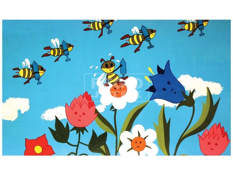 kép nagyítása A telhetetlen méhecske diafilm 34101403