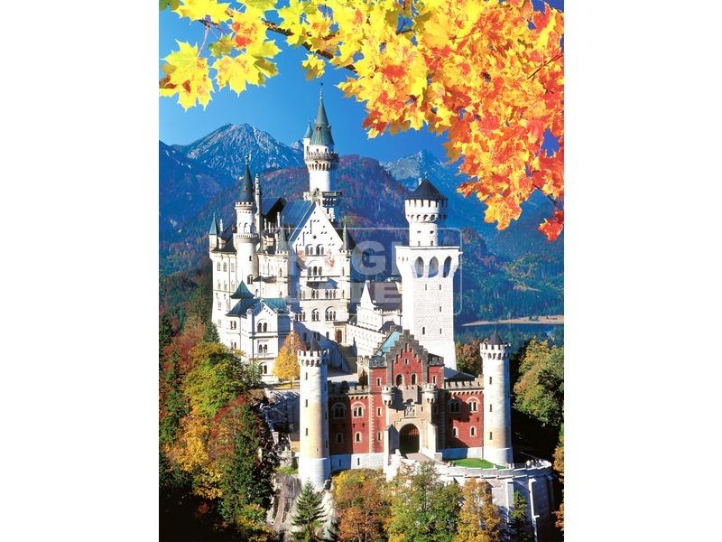 Neuschwanstein-i kastély 1500 darabos puzzle