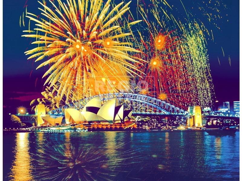 Tűzijáték Sidneyben 2000 darabos puzzle
