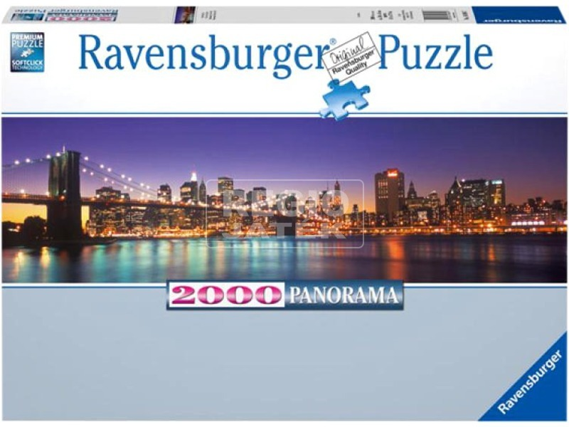 kép nagyítása New York 2000 darabos panoráma puzzle
