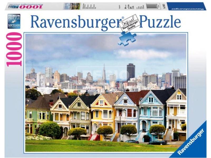 kép nagyítása Puzzle 1000 db - San Francisco