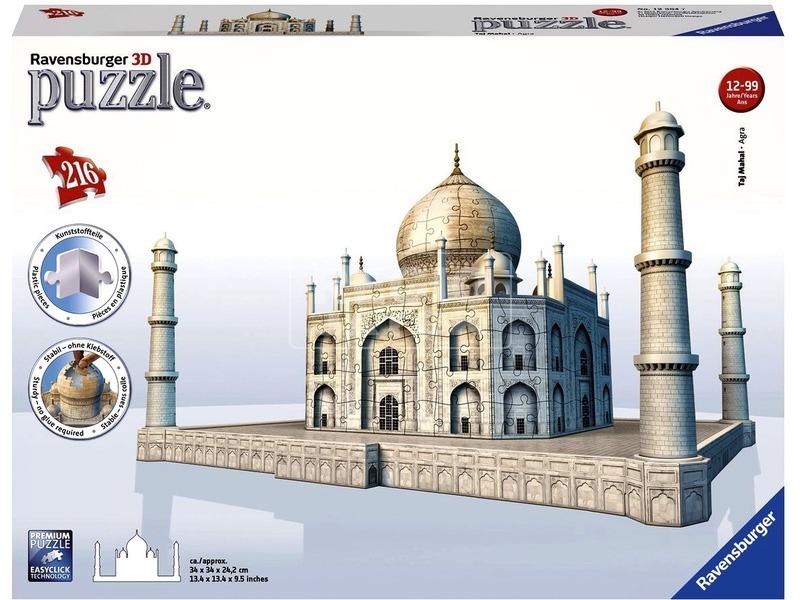 Taj Mahal 216 darabos 3D puzzle