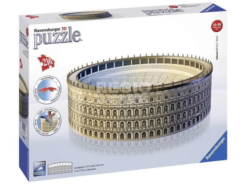 A római Colosseum 216 darabos 3D puzzle