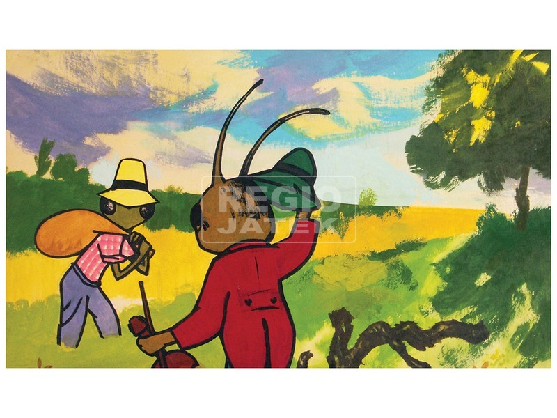 kép nagyítása A tücsök és a hangya diafilm 34101410
