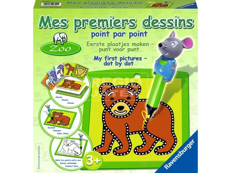 Állatkert első rajzkészlet