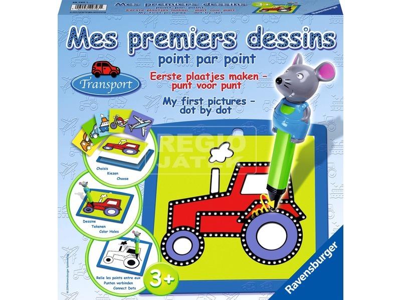 Első rajzok - Járművek