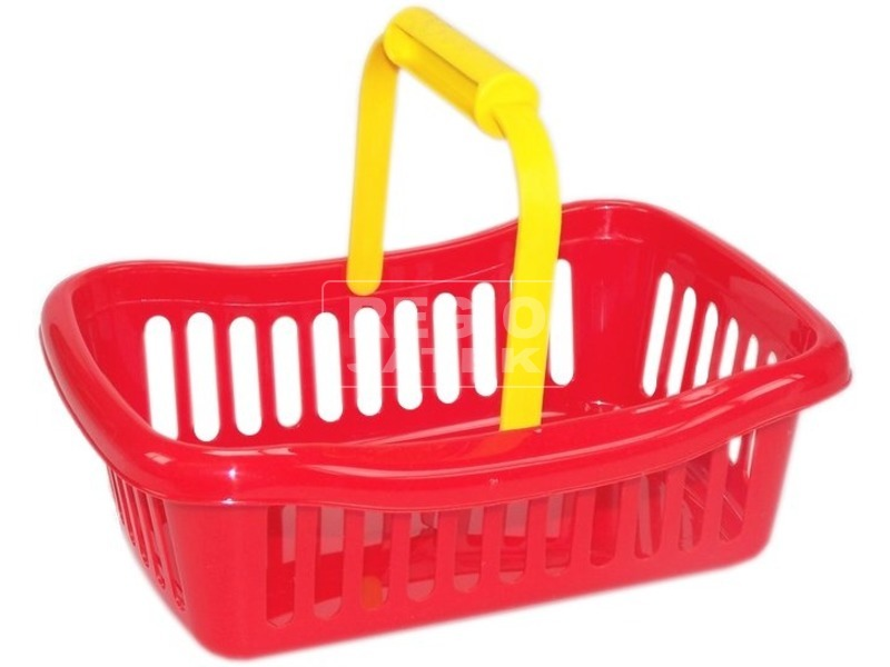 Műanyag bevásárló kosár - mini, többféle