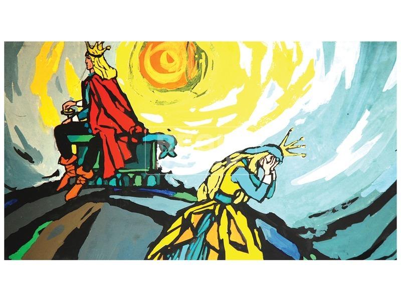 kép nagyítása A válogatós királykisasszony diafilm 34103940
