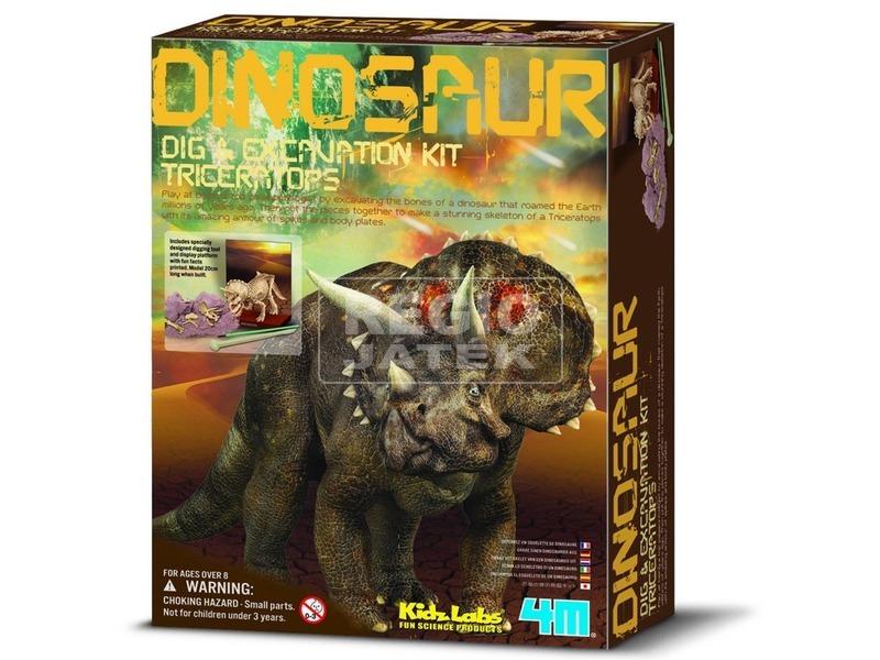 4M dinoszaurusz régész készlet - Stegosaurus