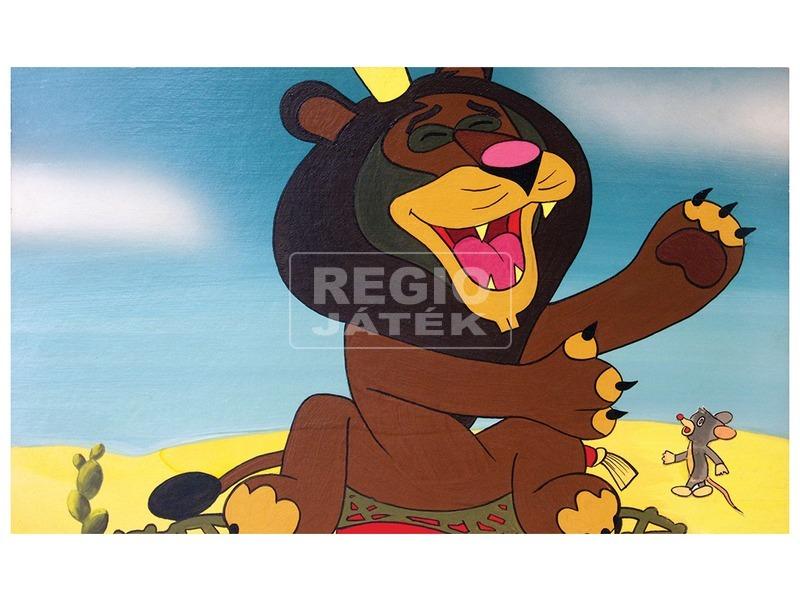 kép nagyítása Az egér és az oroszlán diafilm 34100932