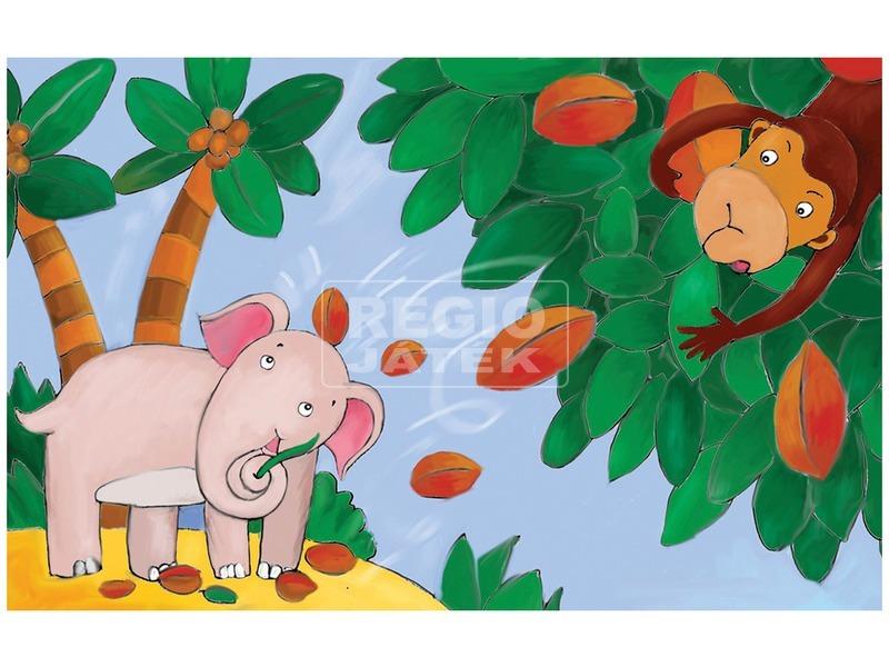 kép nagyítása Az elefánt reggelije diafilm 34104213