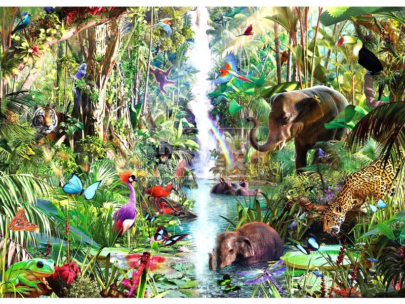 Dzsungel 9000 darabos puzzle