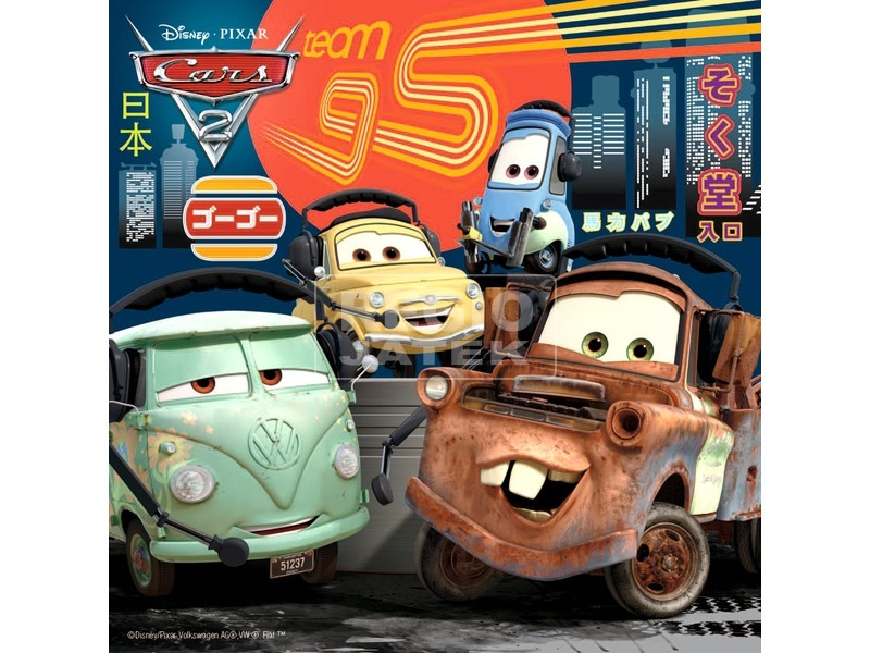 kép nagyítása Verdák 2 szereplők 3 x 49 darabos puzzle