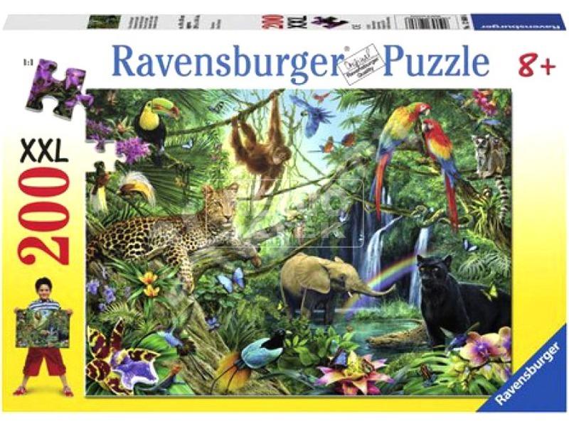 kép nagyítása Dzsungel 200 darabos XXL puzzle