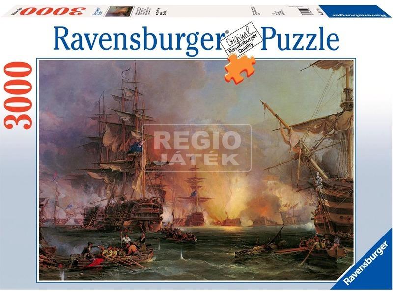 kép nagyítása Algír ostroma 3000 darabos panoráma puzzle