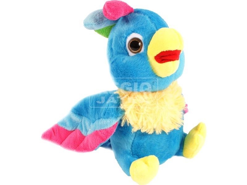 Papagáj plüssfigura - 24 cm, többféle
