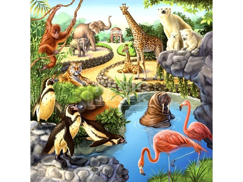 kép nagyítása Állatok 3 x 49 darabos puzzle