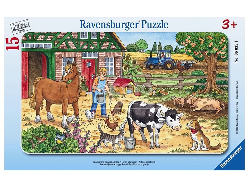 Tanyasi élet 15 darabos puzzle