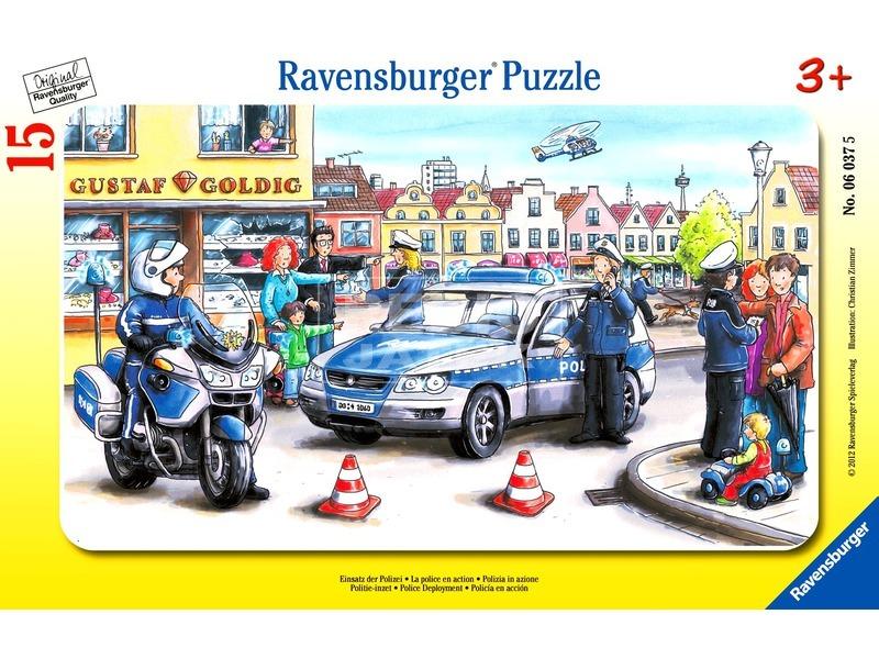 Rendőrök 15 darabos puzzle