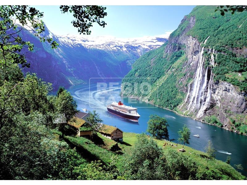 Norvég fjordok 1000 darabos puzzle