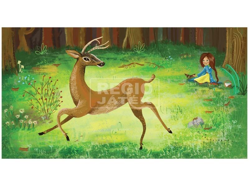kép nagyítása Borsi az erdőben - ringató diafilm 34104442