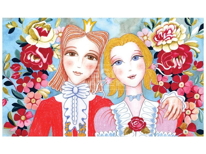 kép nagyítása Borsószem hercegkisasszony diafilm 34101427