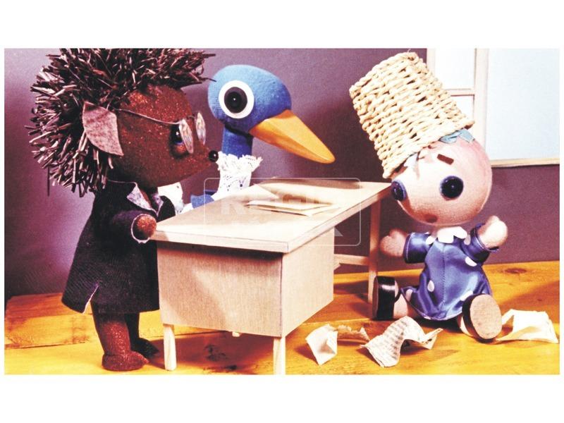 kép nagyítása Böbe baba a papírkosárban diafilm 34104572