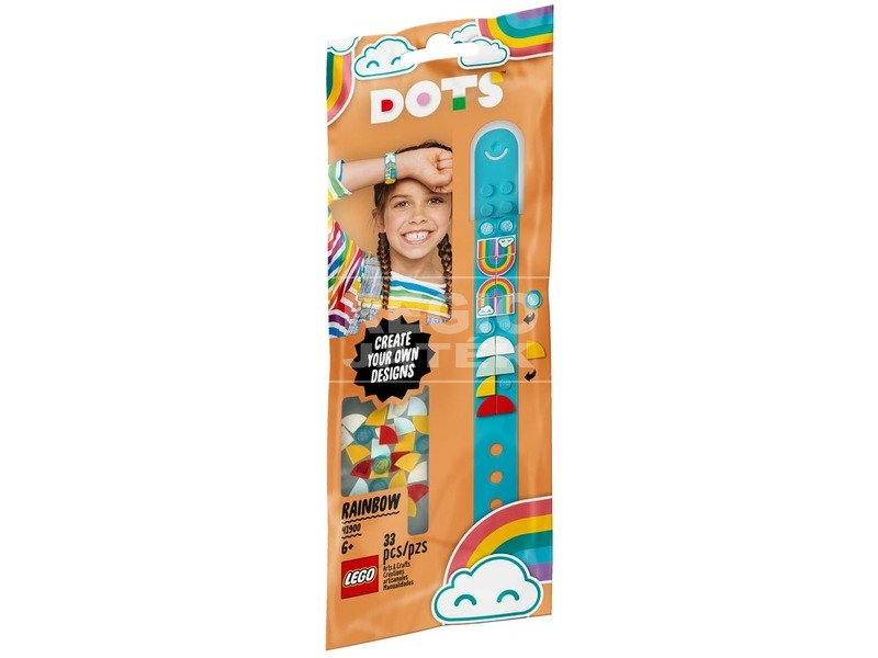 LEGO® DOTS 41900 Szivárvány karkötő