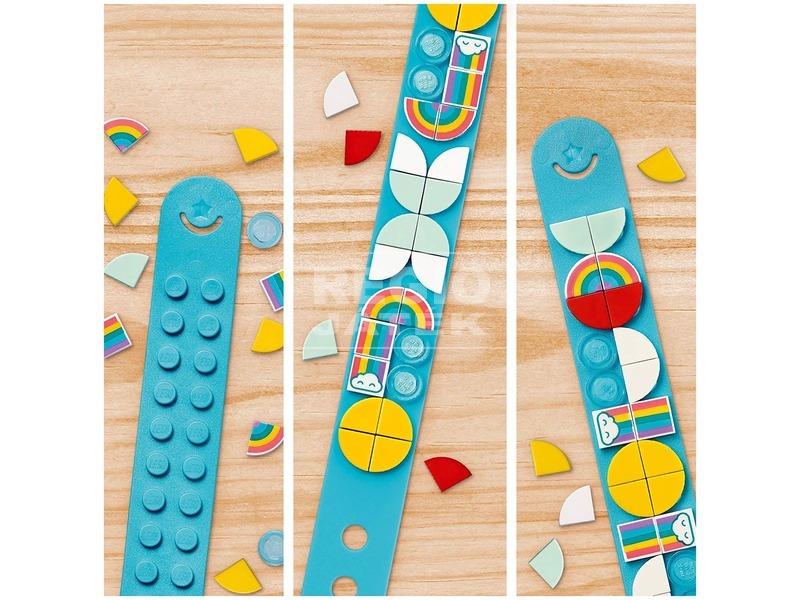 kép nagyítása LEGO® DOTS 41900 Szivárvány karkötő